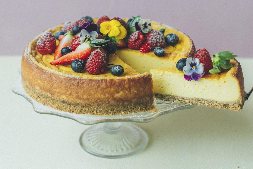 Overheerlijk én vegan: zo maak je een heerlijke, fruitige cheesecake