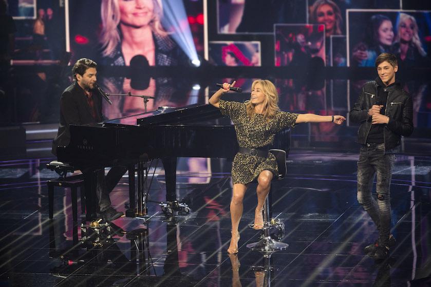Mooi afscheid voor Wendy van Dijk bij 'The Voice'