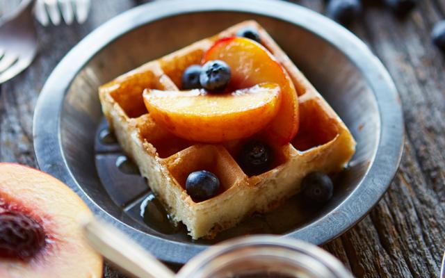 Recept: Gezonde wafeltjes voor bij het ontbijt