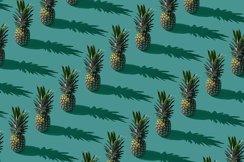 Ananas in je interieur: gewoon leuk of van de vrije liefde?