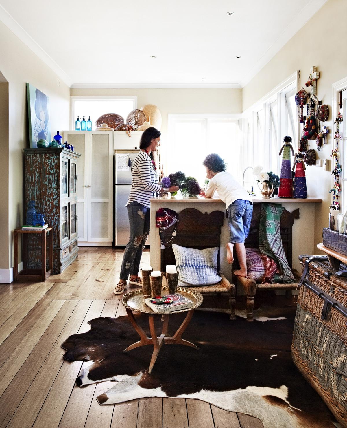 Gypsy huis op het Australische platteland