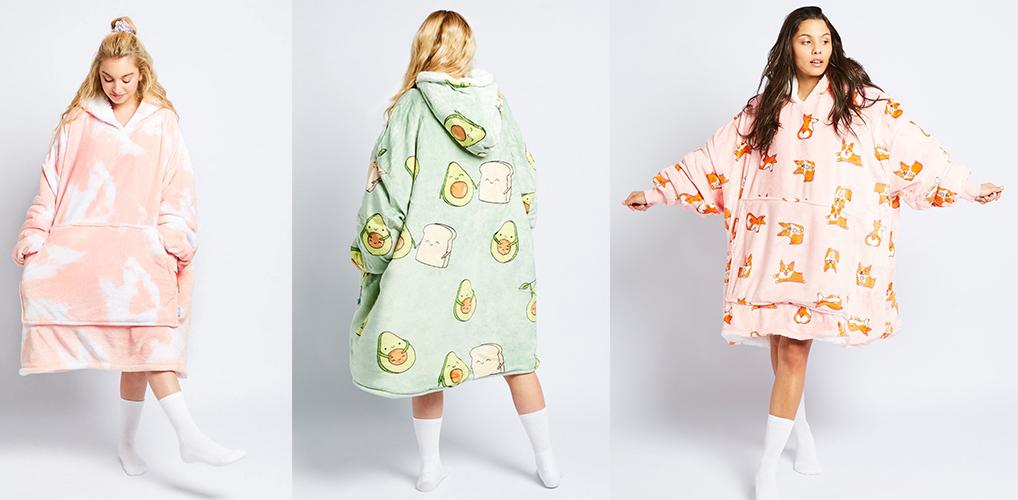 De ultieme comfortwear voor huismusjes is hier: de oodie