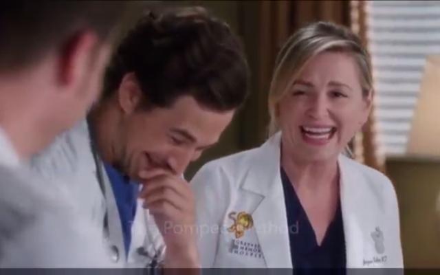 LACHEN: Bekijk hier enkele bloopers uit seizoen 12 van 'Grey's Anatomy'