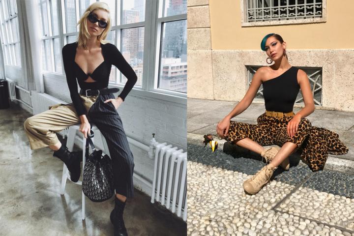 'Womanspreading' is momenteel de populairste pose op Instagram