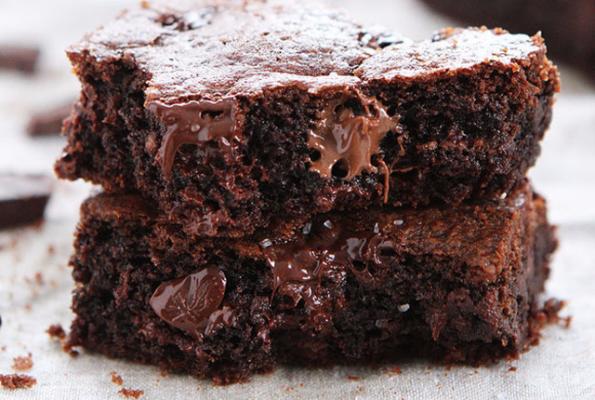 Recept: chocoladecakejes met Nutella en zeezout