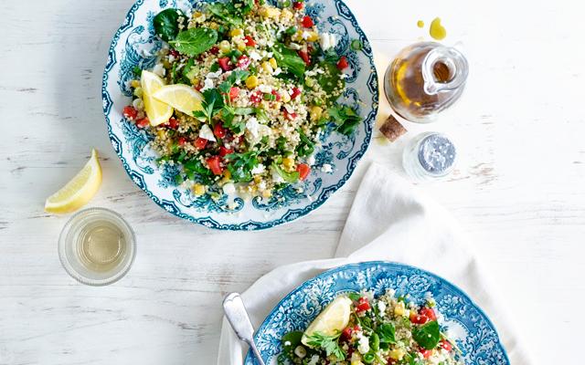 GEVONDEN: de gouden formule voor een perfecte salade