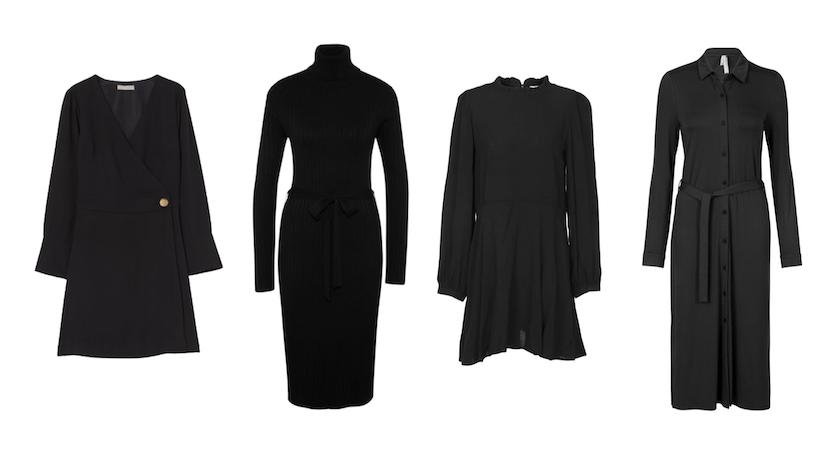 Zwarte jurkjes Jeltje 1