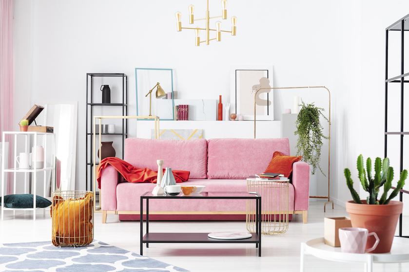 Bij deze shop scoor je deze week roze velvet interieuritems voor een prikkie