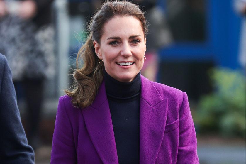 Kate Middleton steelt opnieuw de show in een pimpelpaars pak