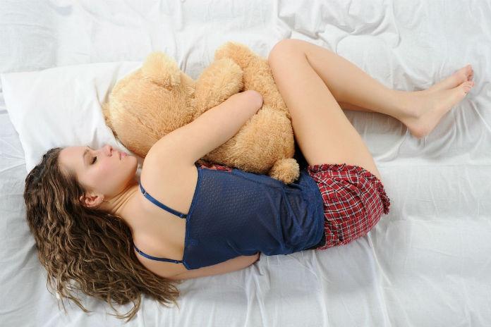 Opgebiecht: 'Ik kan niet slapen zonder mijn knuffel'