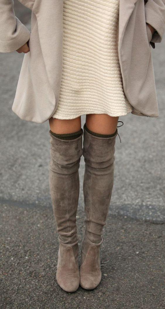 Helemaal hip deze herfst: over the knee boots