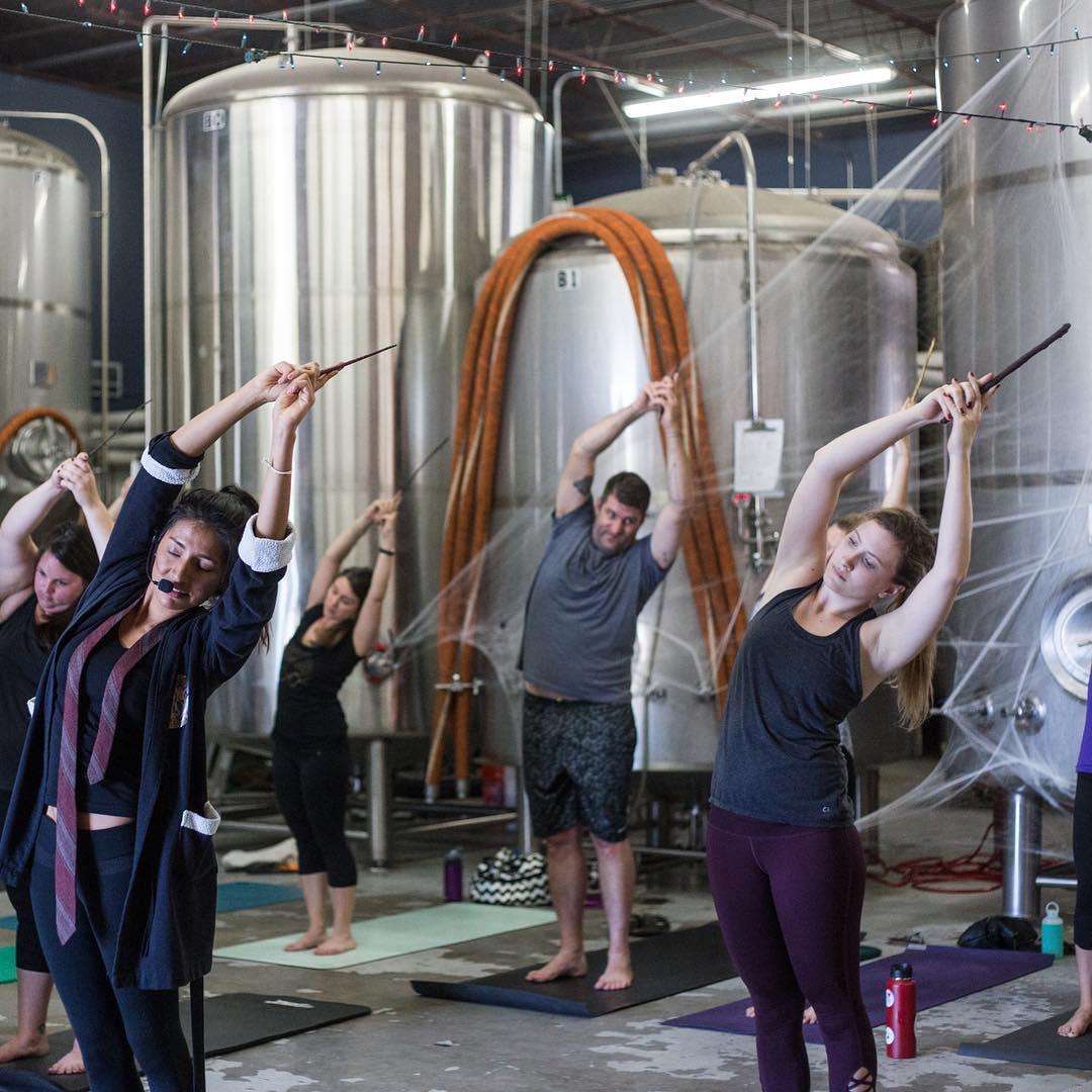Willen wij nu proberen: Harry Potter-yoga
