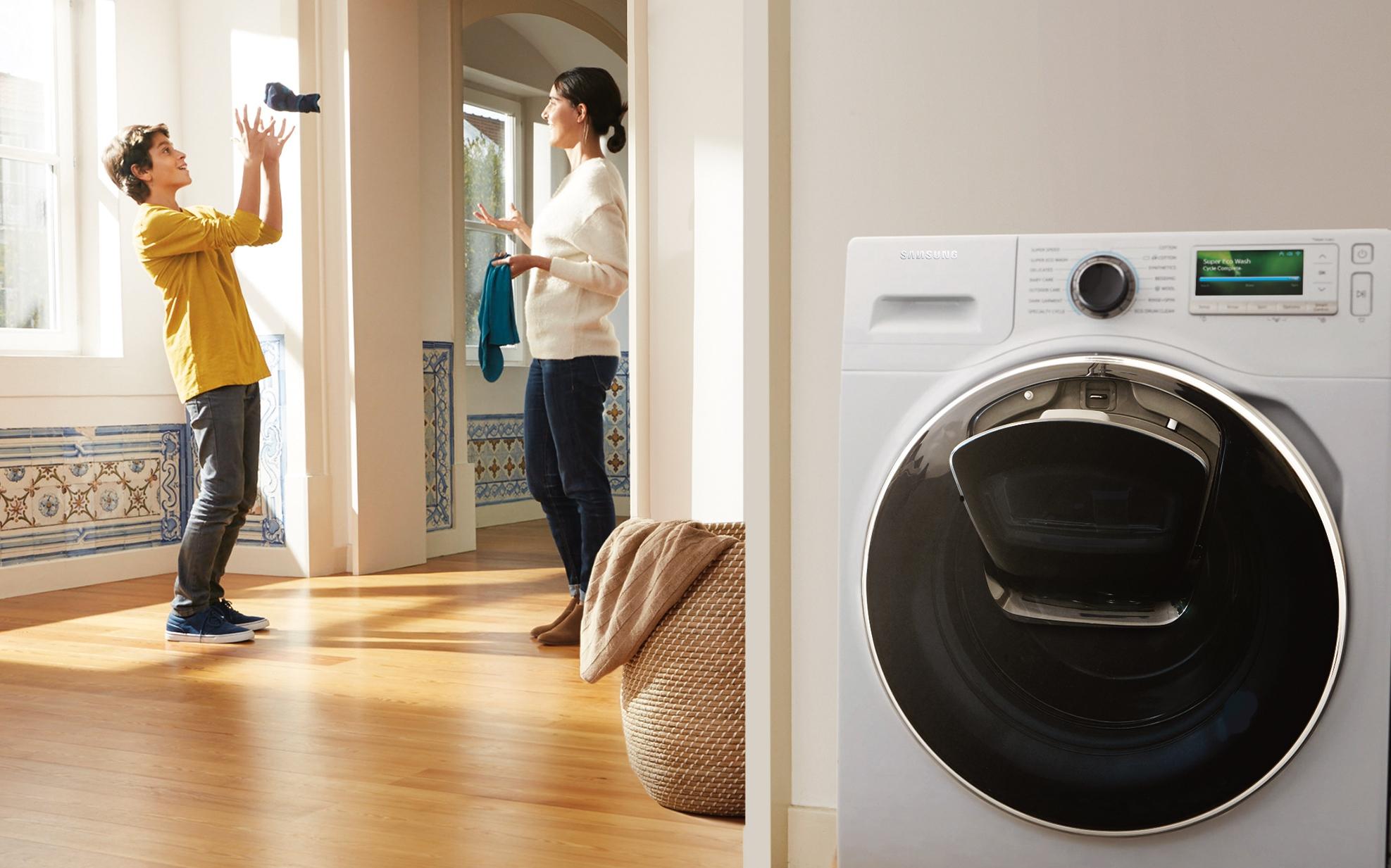 Samsung AddWash maakt wassen leuk