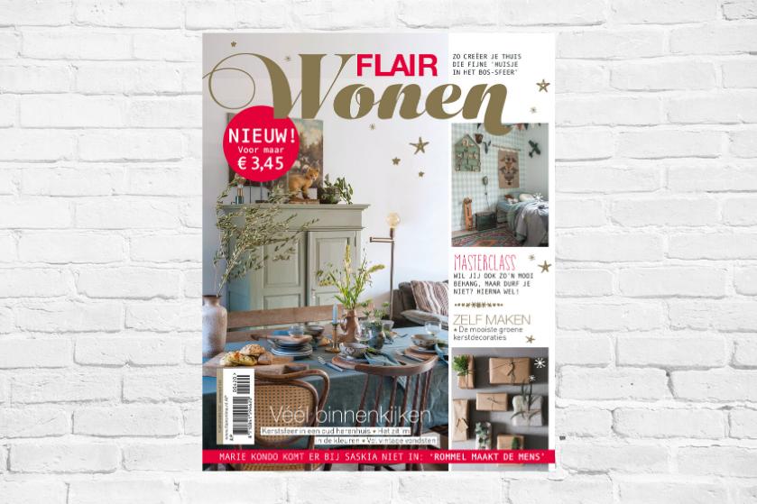 Flinke dosis inspiratie, DIY's en héél veel binnenkijken: de eerste editie van 'Flair Wonen' is nú verkrijgbaar