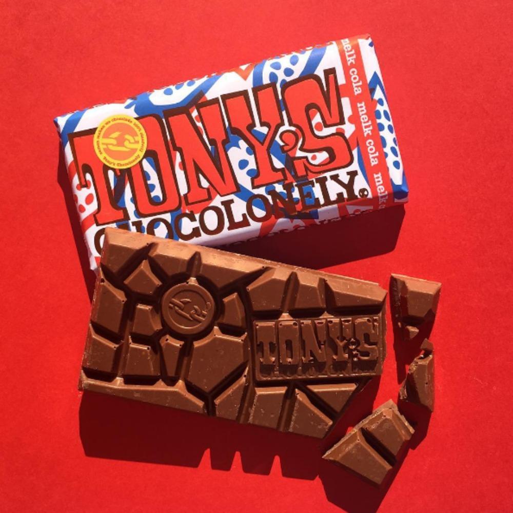 Yum: Tony's Chocolonely brengt 3 bijzondere nieuwe smaken uit!