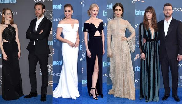 Critics' Choice Awards 2016: Celebs schitteren op de rode loper