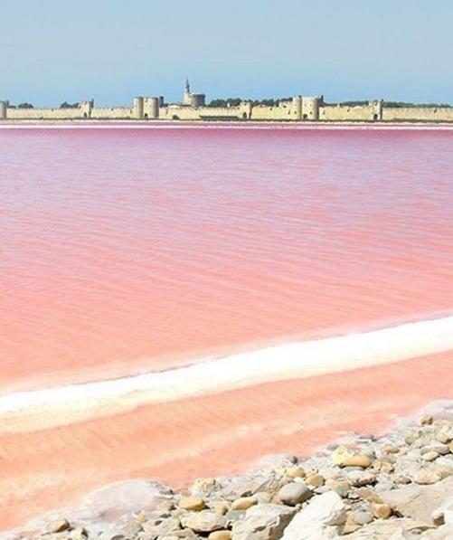 Dit roze sprookjesmeer is dichter bij dan je denkt…