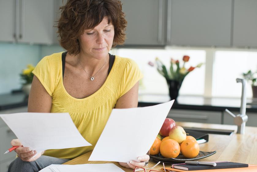 Huishoudboekje: 'Die deurwaarders op de stoep gaf stress, maar ongelukkig ben ik nooit geweest'