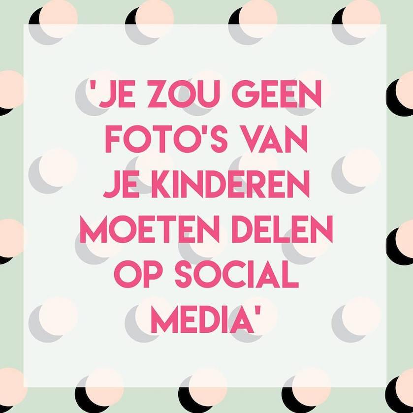 Stelling kinderen social media