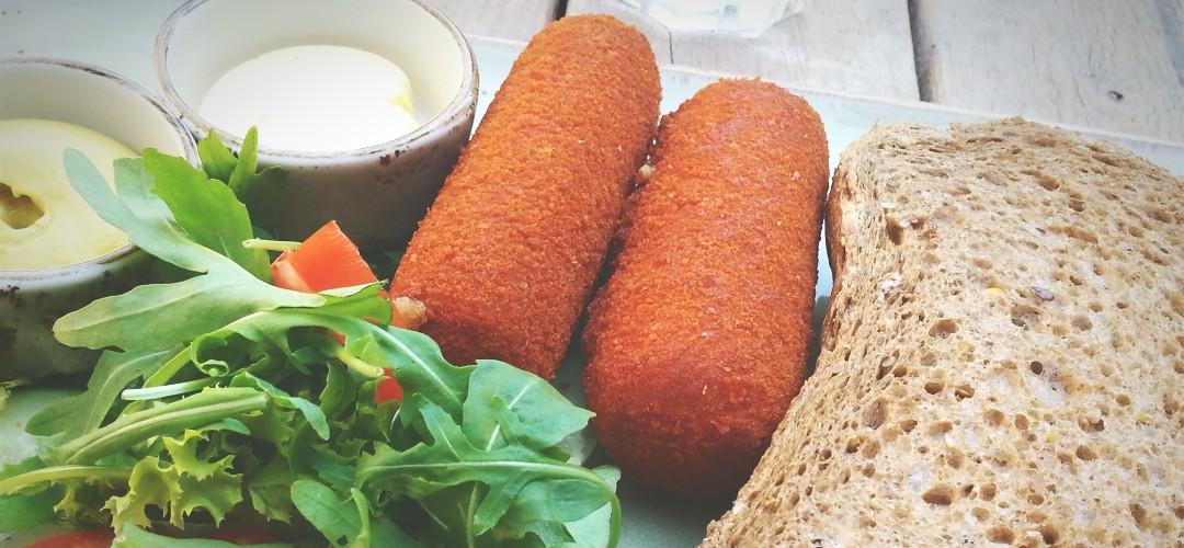Wat is gezonder: een broodje kroket of een broodje kaas?