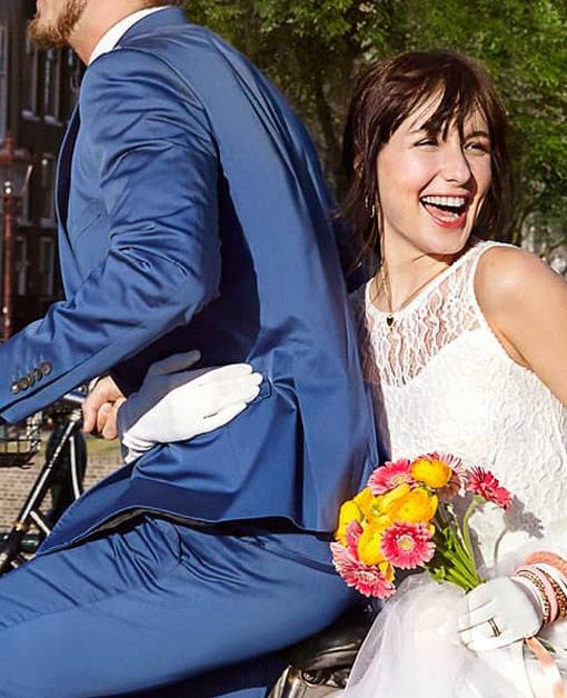 Zeeman ontwerpt trouwjurk voor een prikkie