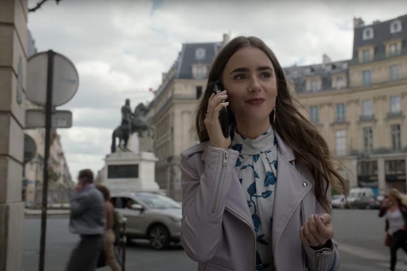 'Sex and the City'-feelings alom: de officiële trailer van 'Emily in Paris' is ein-de-lijk hier