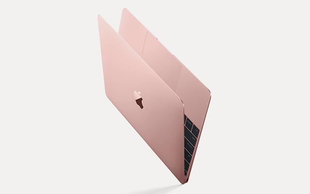 Je kunt nu ook een macbook in rosegoud kopen