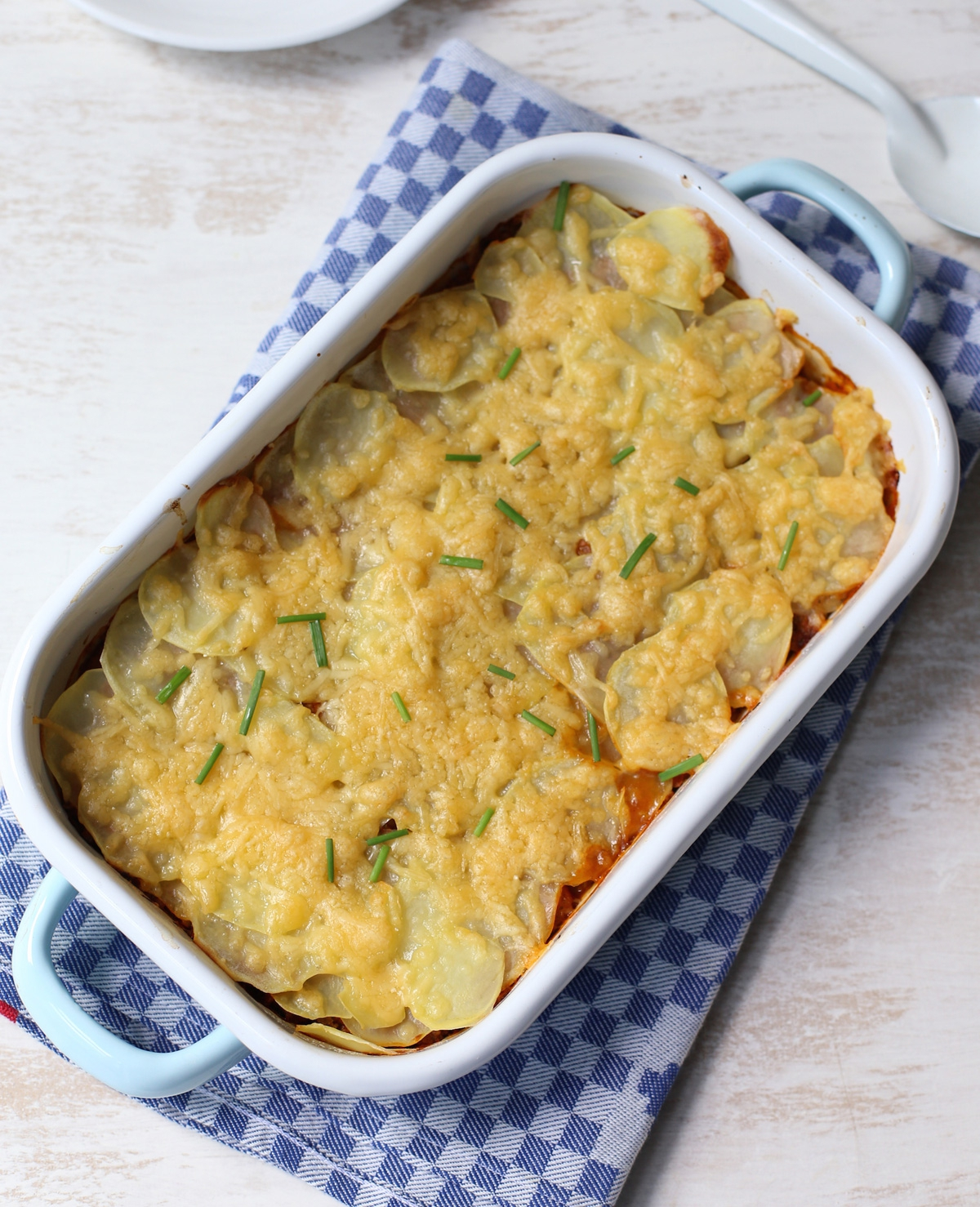 Ovenschotel met aardappel en gehakt