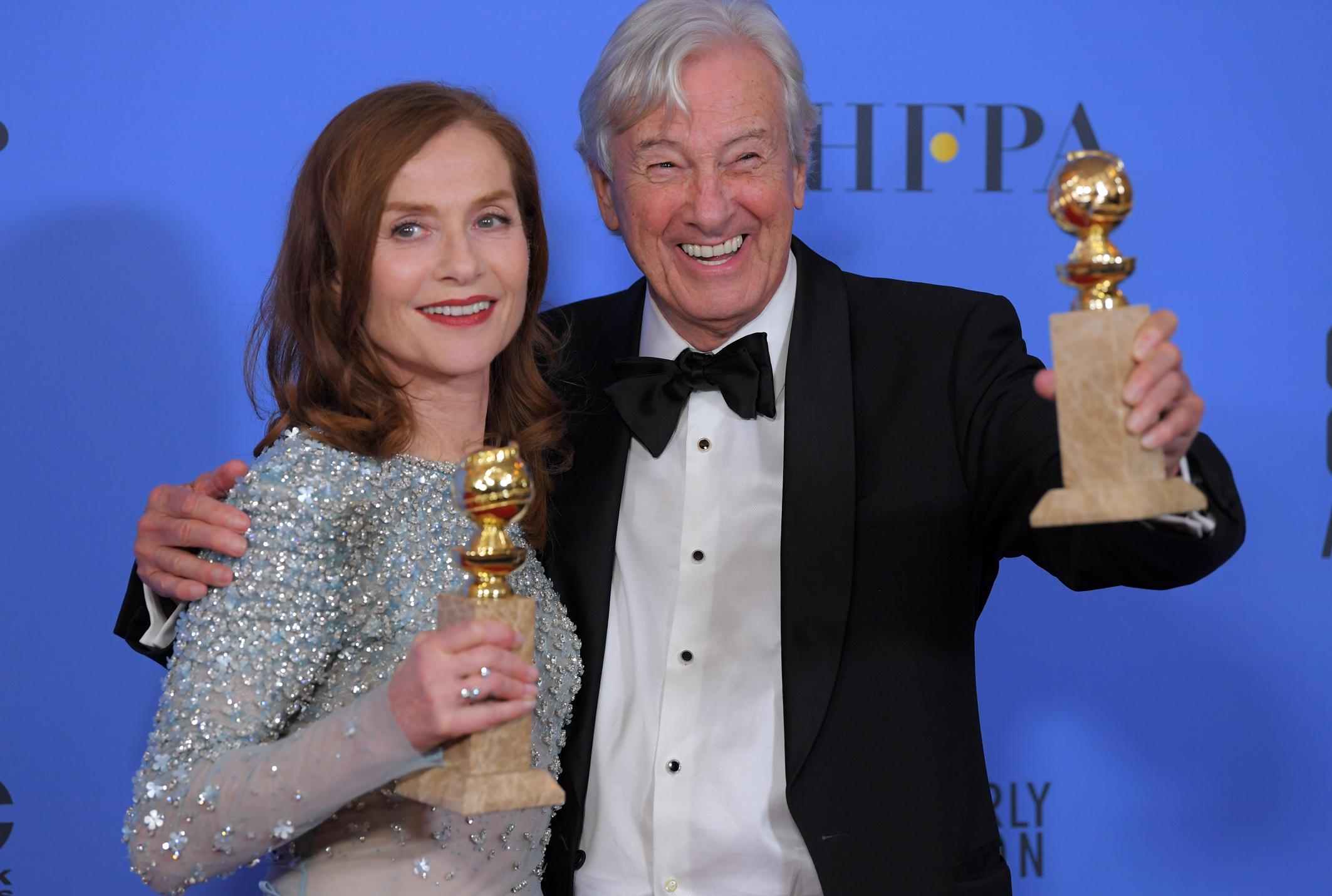 WOW: Nederlandse regisseur Paul Verhoeven behoort tot grote winnaars Golden Globes 2017