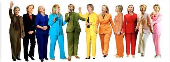 Girlpower: kies voor een broekpak zoals Hillary Clinton