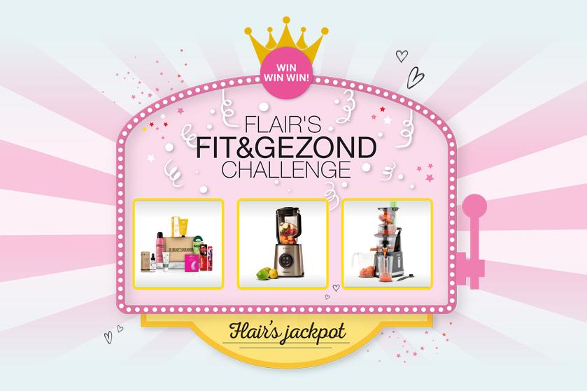 Flair Fit&Gezond Challenge: De Jackpot