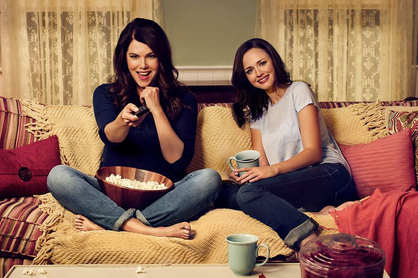 OMG! Kondigde Netflix net nog een nieuw seizoen van Gilmore Girls aan?