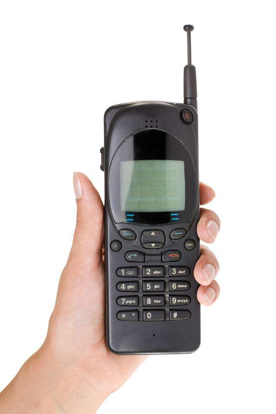 Een mobiele telefoon? Daar zie ik het nut niet zo van in…