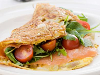 Recept: omelet met gerookte zalm