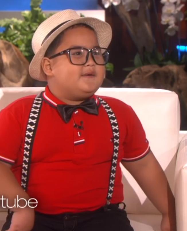 Filipijns jongetje (6) steelt de show bij Ellen DeGeneres