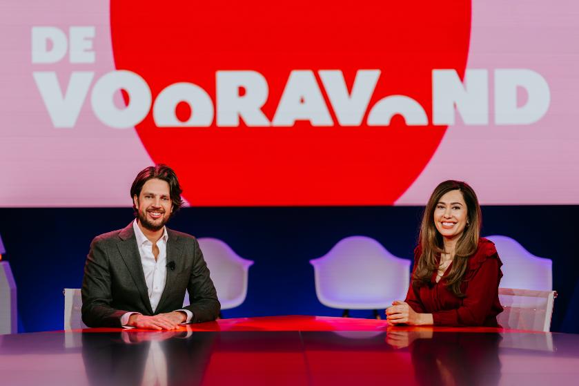 Fidan en Renze stelden omroep teleur na abortus uitspraken tijdens De Vooravond