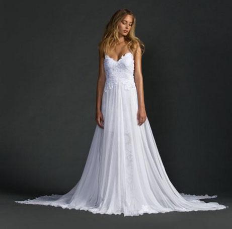 Zien: Deze 14 bruiden droegen de populairste trouwjurk op Pinterest