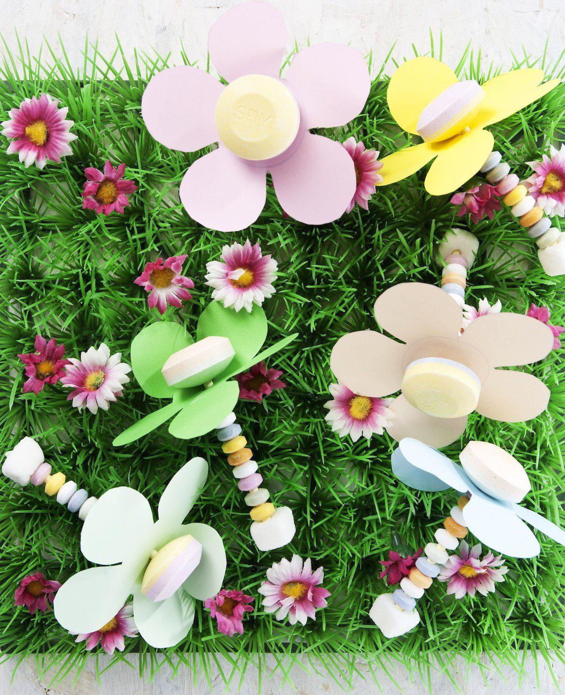 Traktatie: bloempjes