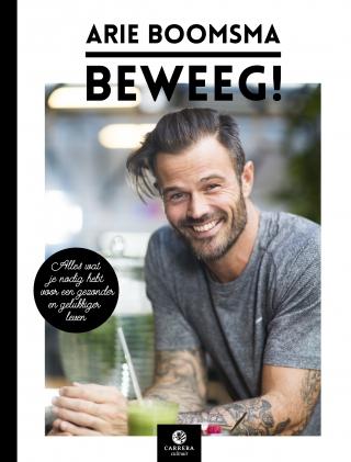 Win het gesigneerde boek Beweeg! van Arie Boomsma