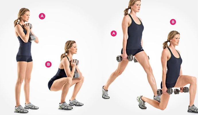 Work-outs voor elk lichaamstype