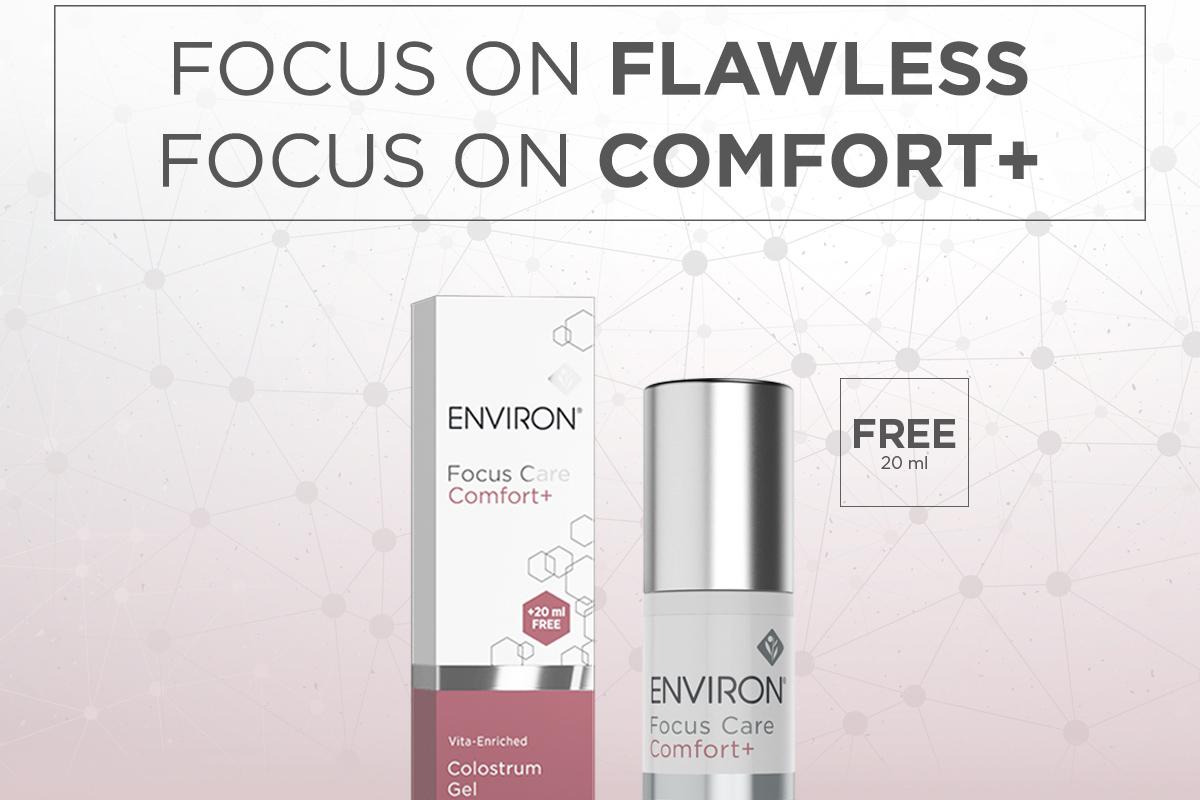 WIN: 17x Environ Focus Care Comfort Plus Colostrum Gel t.w.v. € 61