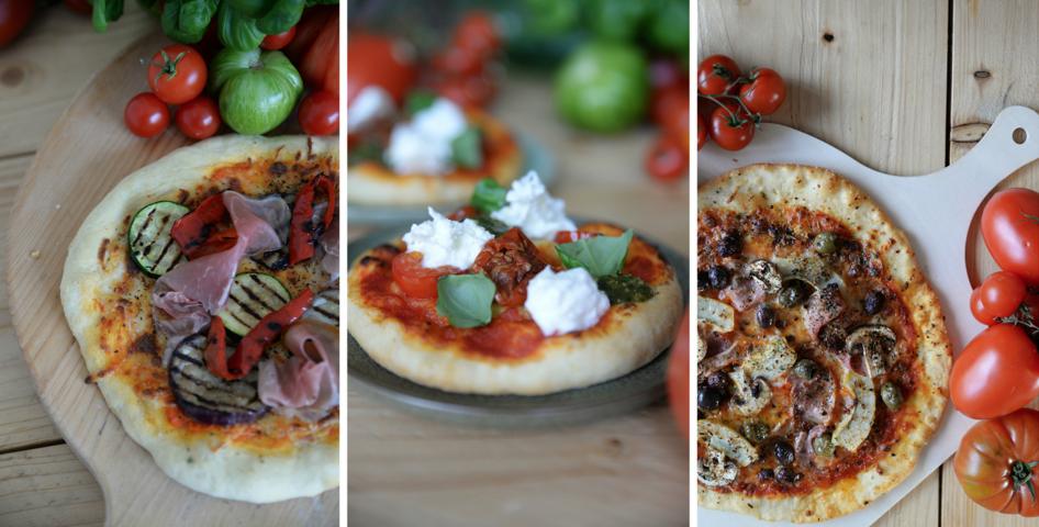 Recept: Homemade pizza met 3 varianten beleg