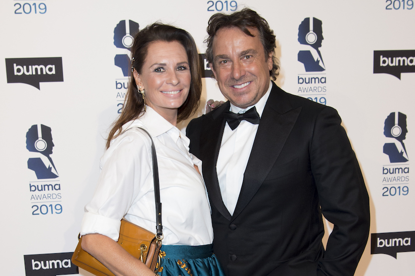 Marco Leontine Borsato beste vriendin steun