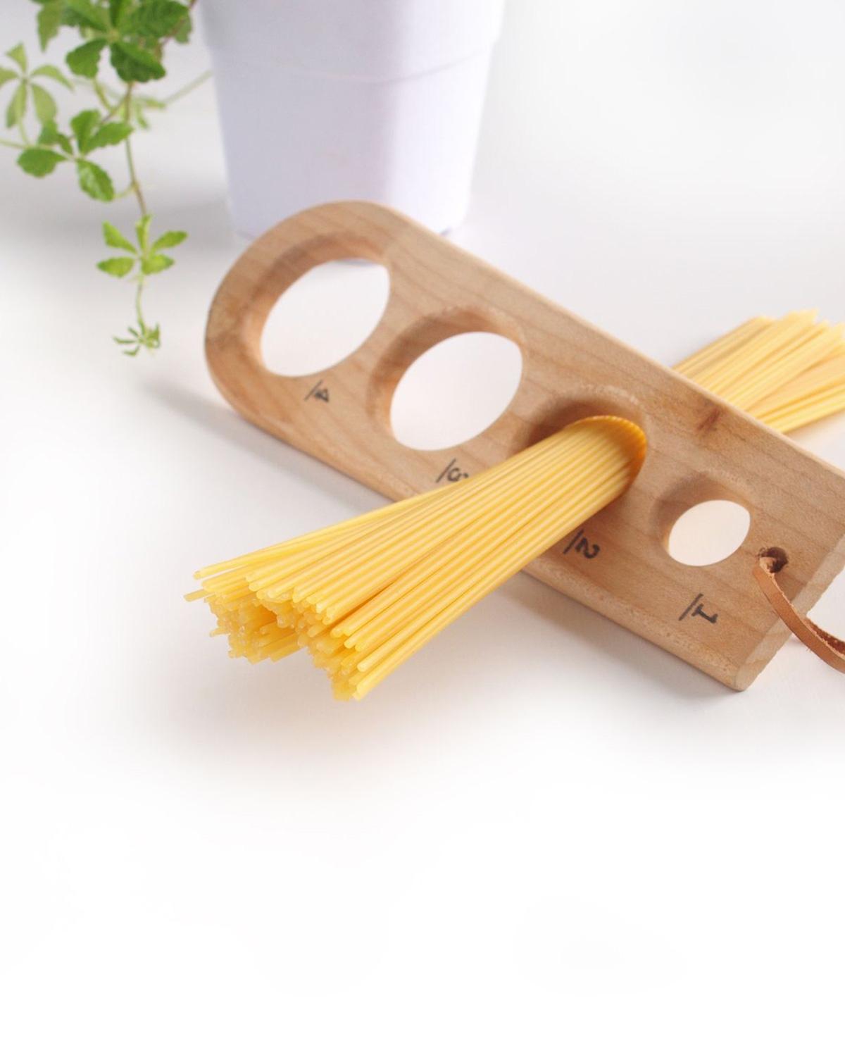 Zo meet je de perfecte hoeveelheid spaghetti
