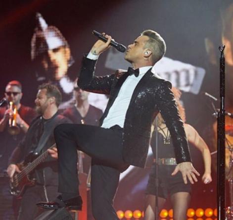 Oeh! Wordt Robbie Williams de nieuwste gast van Carpool Karaoke?