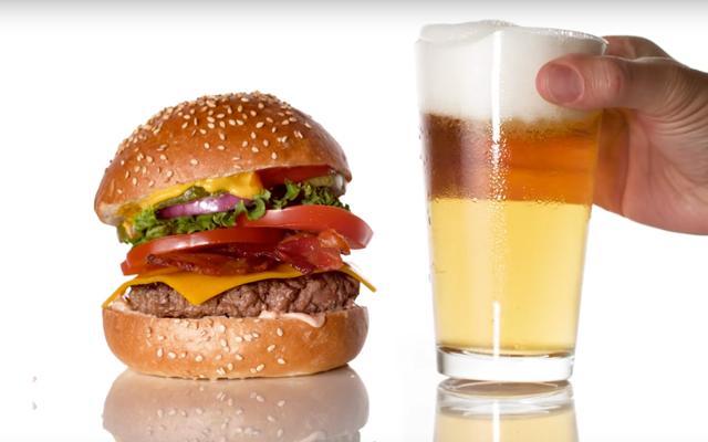 AHA: daarom zien hamburgers er zo ongelofelijk goed uit in reclamefilmpjes
