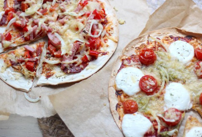 Recept: Snelle pizza wrap