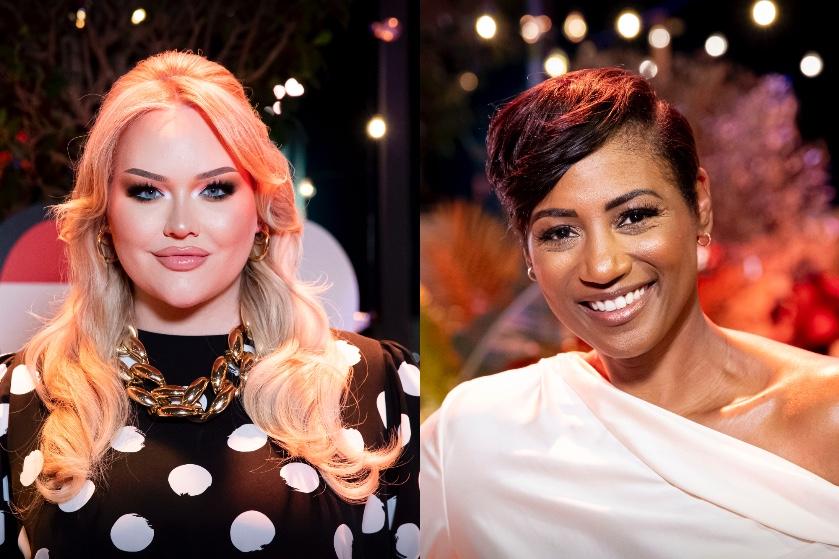 Dít zijn de oogverblindende looks van Nikkie en Edsilia voor de Songfestival-finale