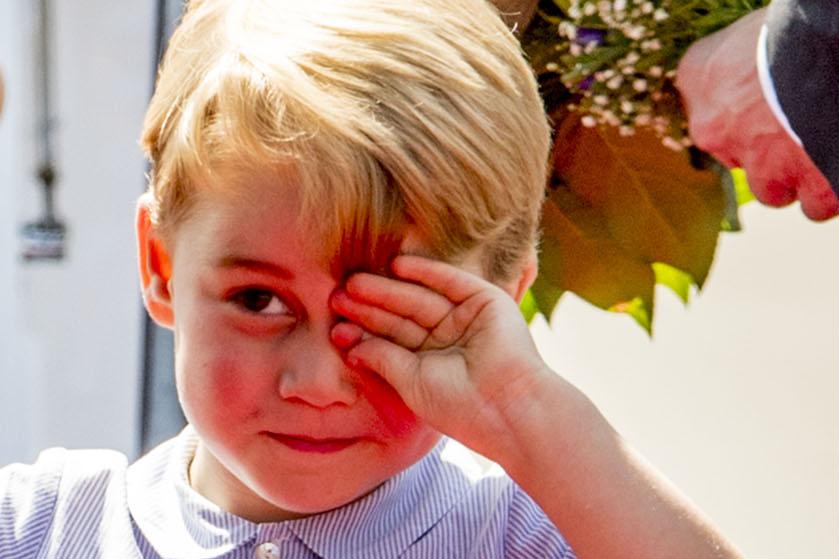 Cute! Bij deze bijnaam wordt prins George genoemd door klasgenootjes