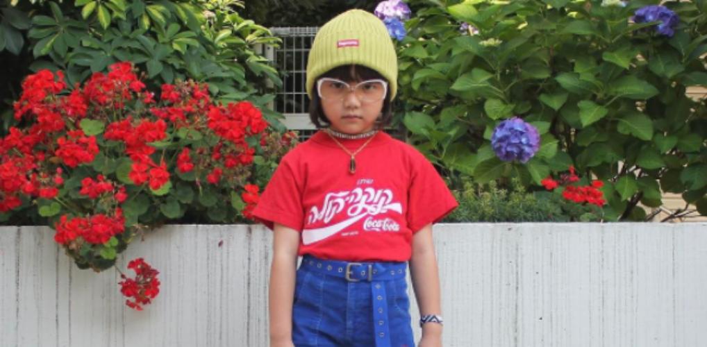 Te cute: dit 6-jarige meisje is zo stylish dat ze in Vogue staat